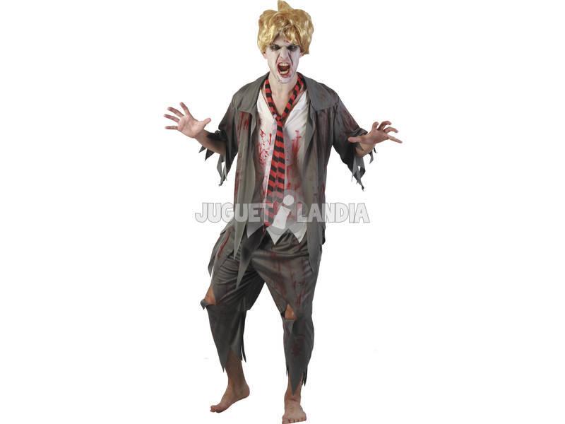 Disfraz Colegial Sangriento Hombre Talla L