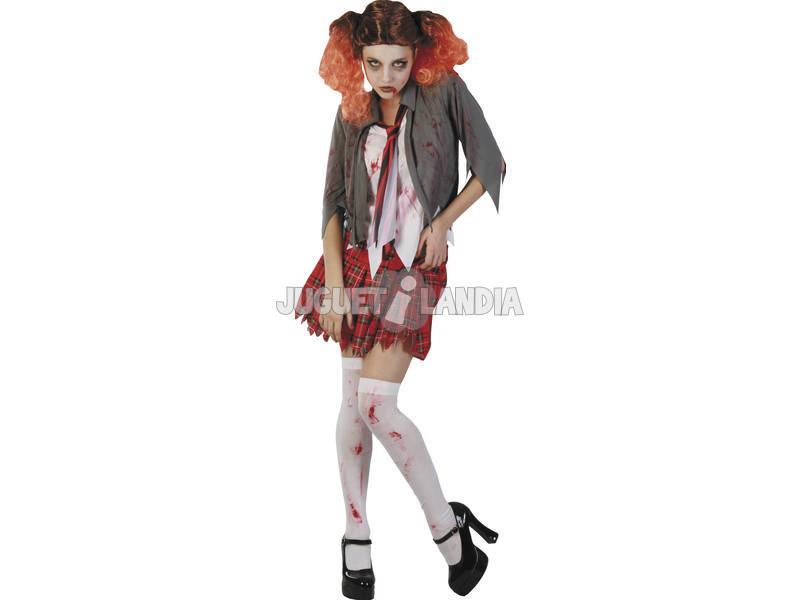 Disfraz Colegiala Sangrienta Mujer Talla XL