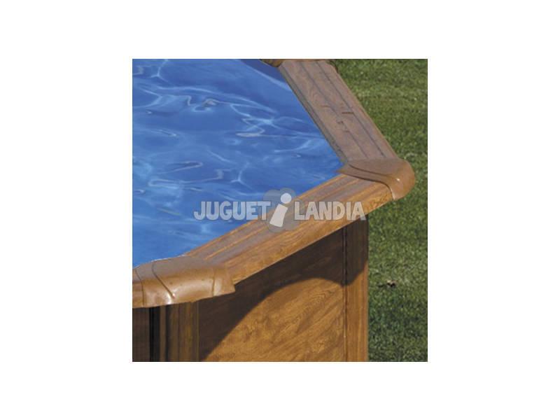 Acheter piscine gre imitation bois maldivas 360x132 cm for Acheter piscine bois