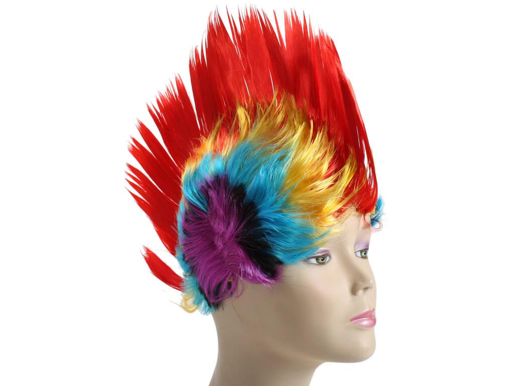 Parrucca Punk Colori
