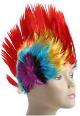 imagen Peluca Punki Colores