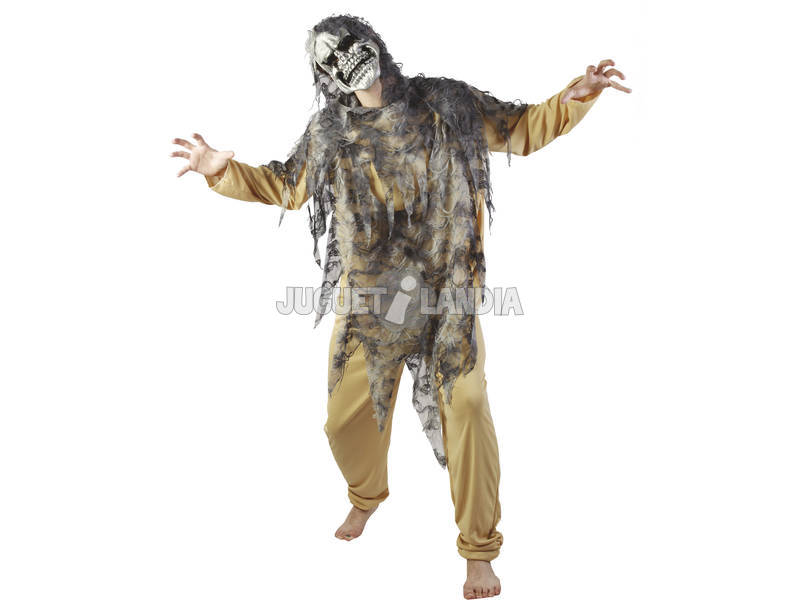 Fantasia Senhor da Morte Homem Ramanho XL