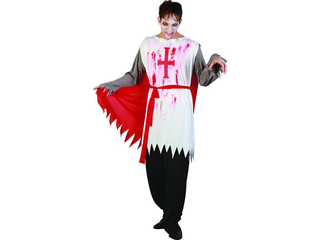 Maschera Cavaliere Sanguinolento Uomo Taglia XL