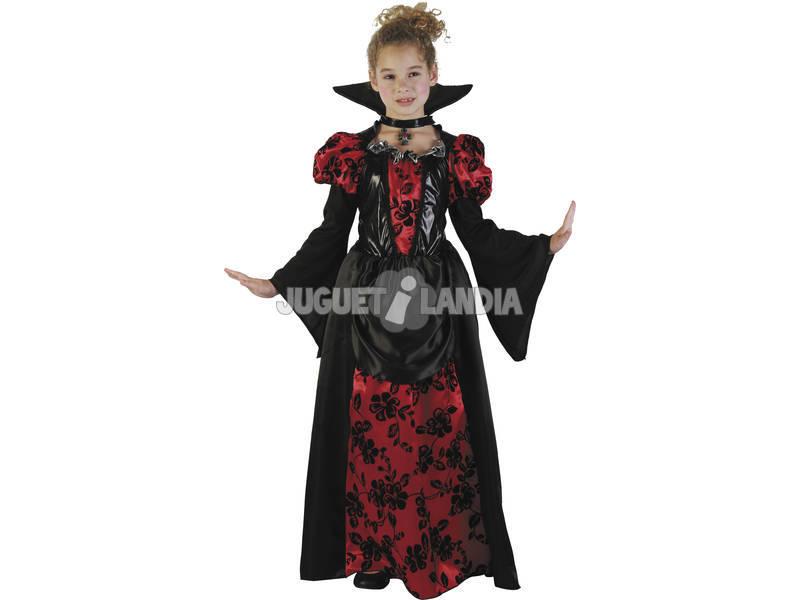 Fantasia Crianças M Vampira Elegante