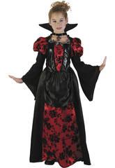Disfraz Niños M Vampiresa Elegante