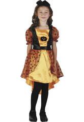 Costume Fata Zucca Ragazza XL