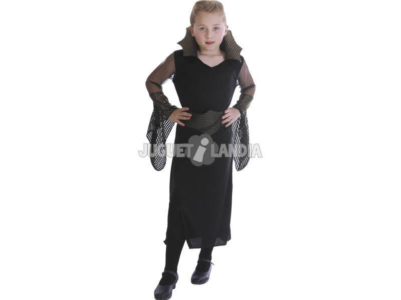 Disfraz Viuda Negra Malvada Niña Talla L