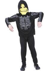 imagen Disfraz Esqueleto Niño Talla L