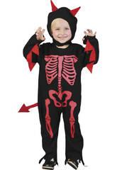 imagen Disfraz Monstruo Esqueleto Bebé Talla S
