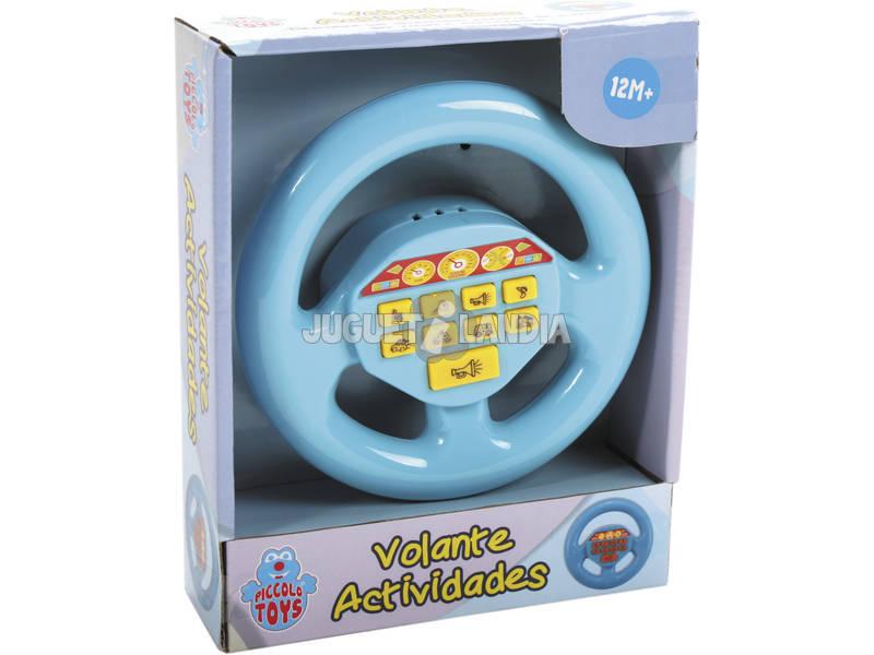 Volante de Juguete Actividades Azul