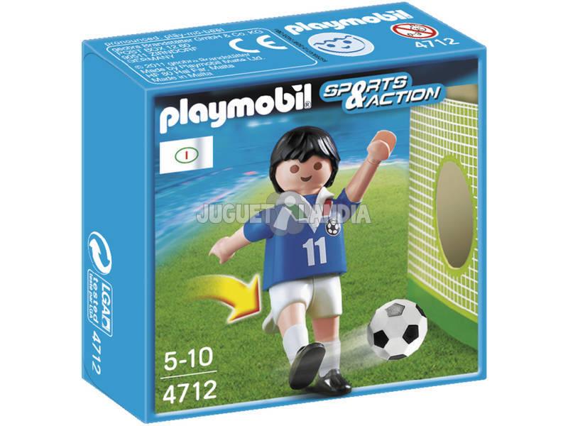 Playmobil Italia jugador de futbol