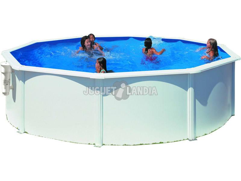 Piscina Circular Azores 350x132 Cm Gre KITPR3583