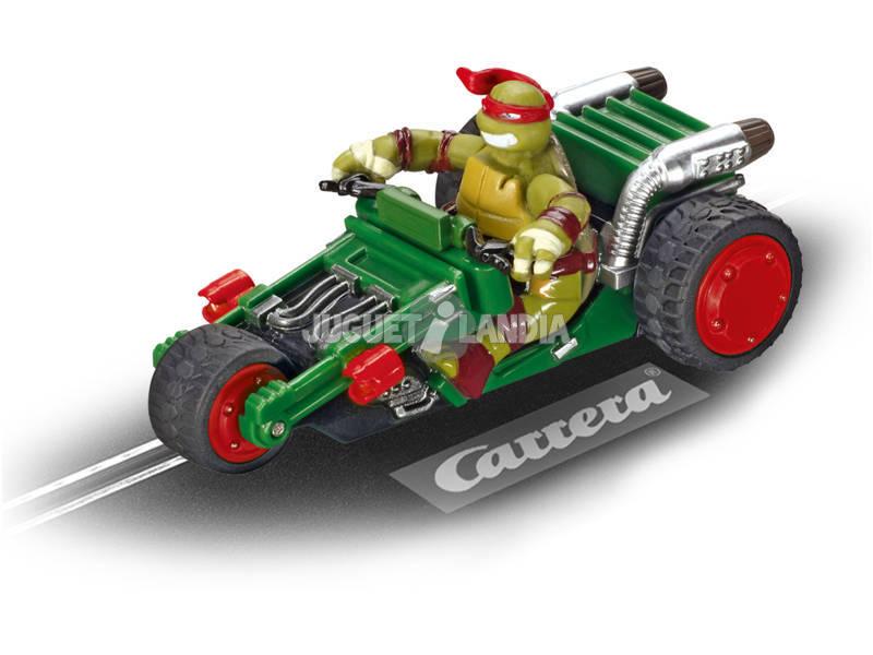 Coche pista Go!! Tortugas Ninja Trike