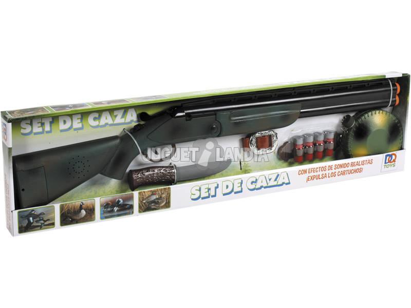 Escopeta Superpuesta 76 cm. Set De Caza Con Sonido