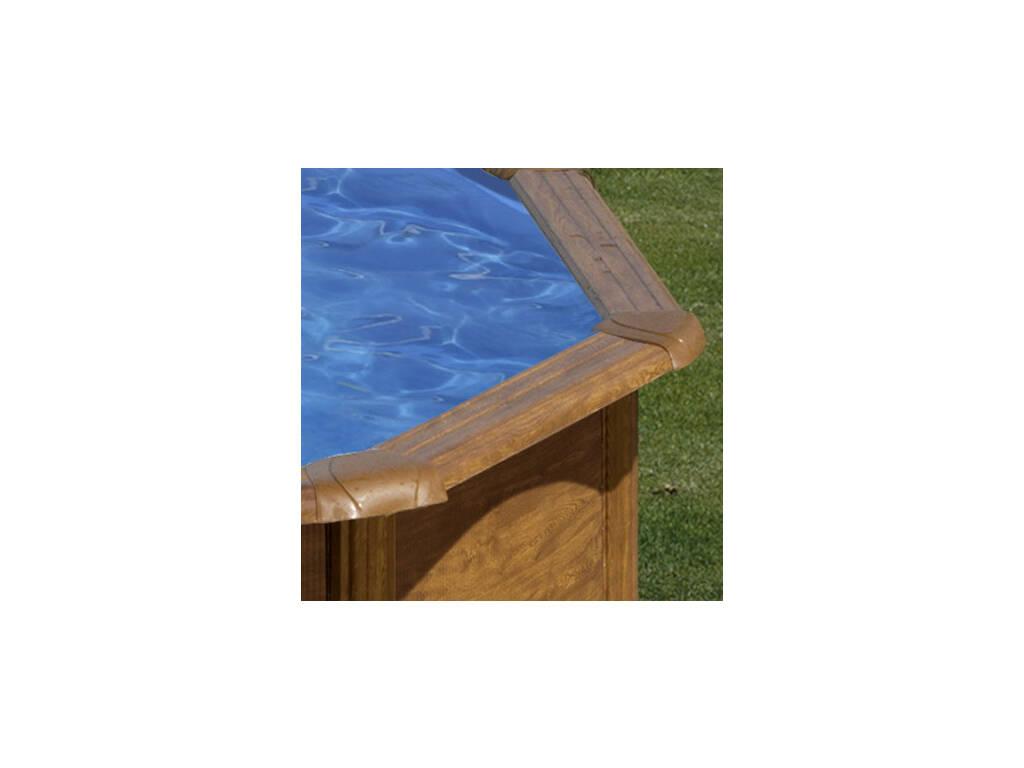 Acheter piscine gre sicilia imitation bois 460x120 cm for Acheter piscine bois