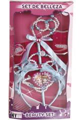 Set Belleza Varita, Collar y Diadema Princesa Lila