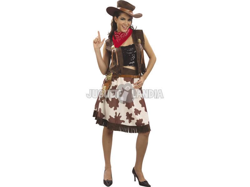 bff2e20158 Disfraz Vaquera Lujo Mujer Talla XL - Juguetilandia