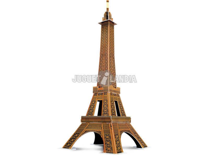 Puzzle 3D 20 Piezas Torre Eiffel