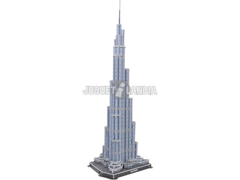 Quebra-cabeça 3D 60 peças Burj Dubai