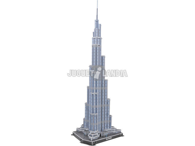 Puzzle 3D 60 Piezas Burj Dubai