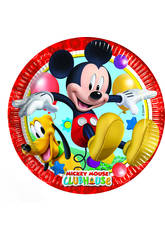 Mickey Mouse pack 8 platos 23 cm.