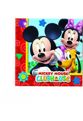 Mickey Mouse pack 20 servilletas 33x33 cm.