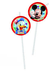 Mickey Mouse pack 6 pajitas