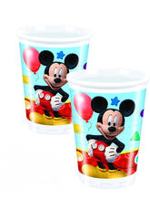 Mickey Mouse pack 8 Verres 200ml.