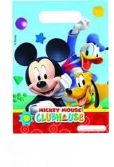 Mickey Mouse pack 6 bolsas de fiesta