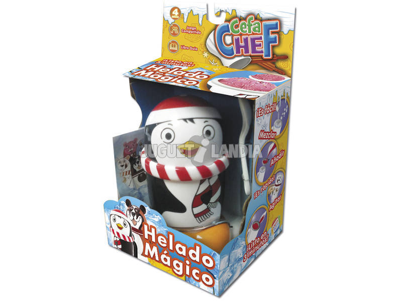 Cefachef Helado Magico