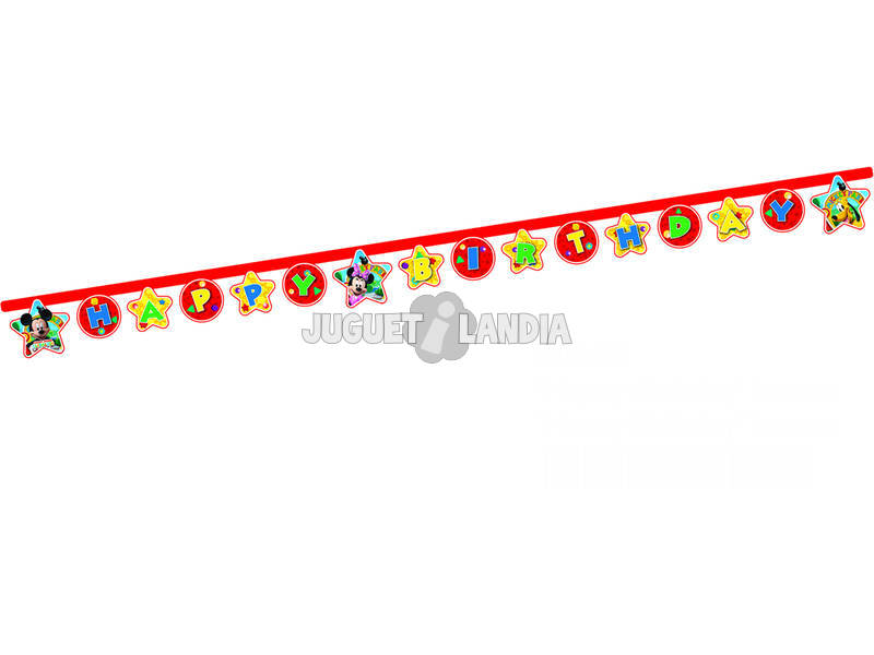 Mickey Mouse pack banner happy birthday
