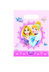 Princesas Glamour pack 6 bolsas de fiesta