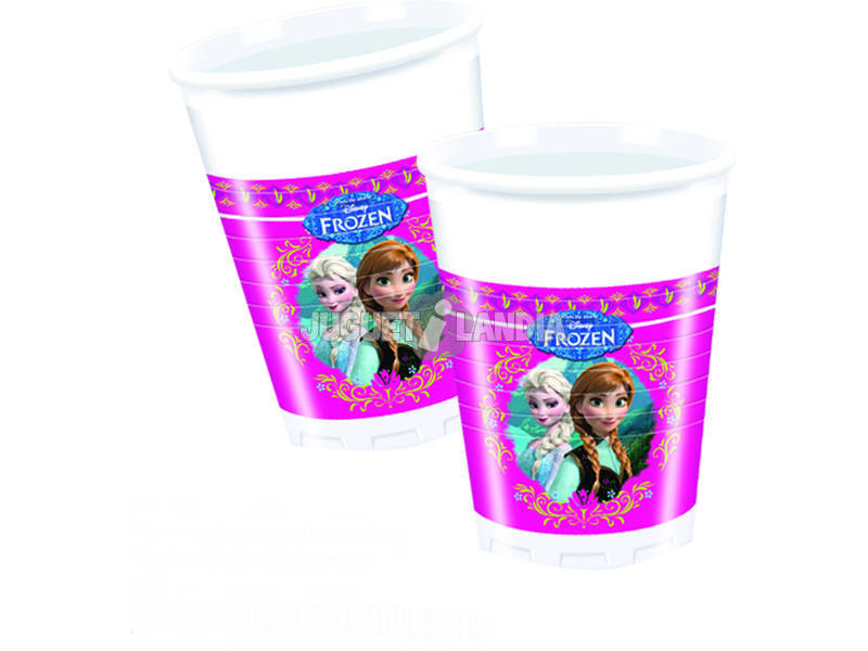 Frozen pack 8 copos 200 ml.