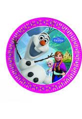 Frozen Pack 8 Assiettes 20cm.