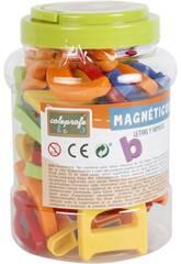 imagen Letras y Numeros Magneticos 52 Piezas