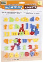 Letras e Números Magnéticos