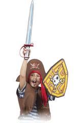 Soft Warriors Espada y Escudo  Calavera Pirata