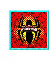 Spiderman pack 20 servilletas 33x33 cm.