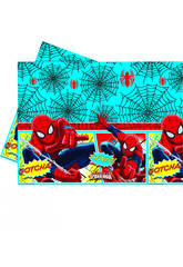 Spiderman Nappe Pastique 120x180cm.