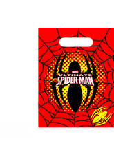 Spiderman pack 6 bolsas de fiesta