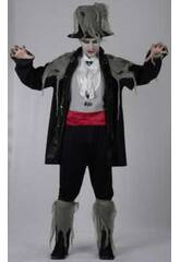 Maschera Vampiro Zombi Uomo Taglia XL