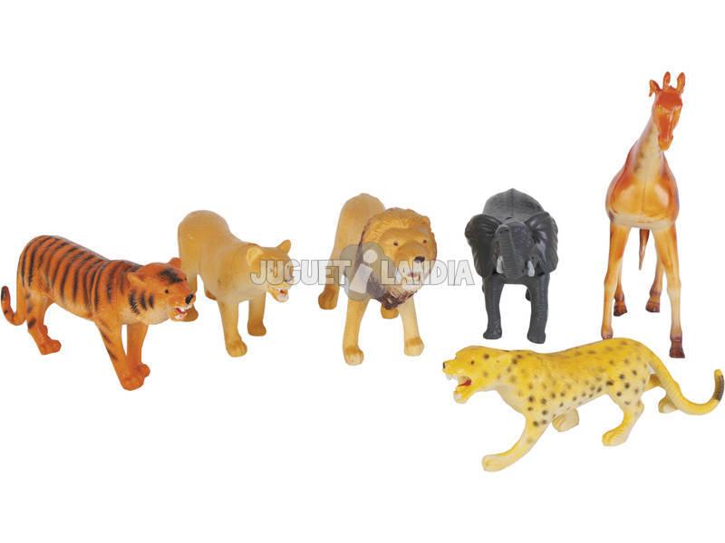 Fauna Animais Selvagens 6 Peças