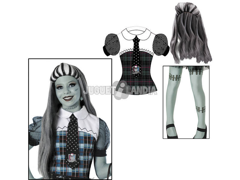 Disfraz Monster High Frankie Stein Niña Talla 4