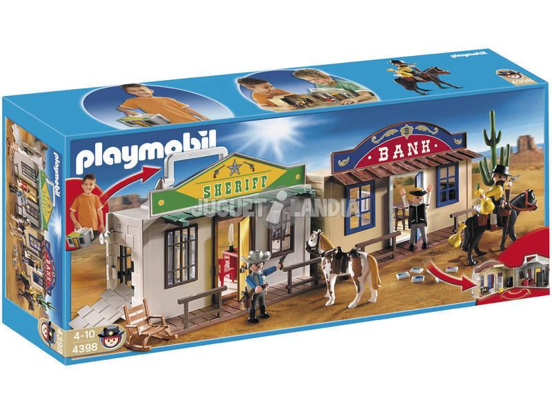 Playmobil Ciudad del Oeste Portatil