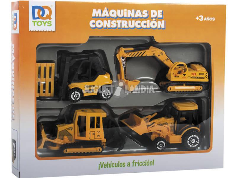 Macchine costruzione Die Cast pack 4