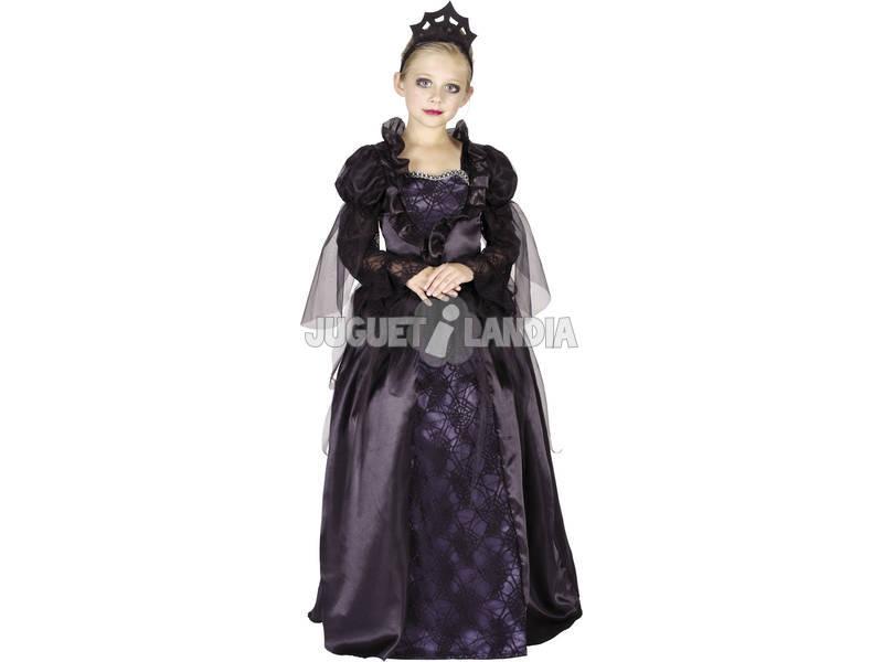 Disfraz Reina Malvada Niña Talla M