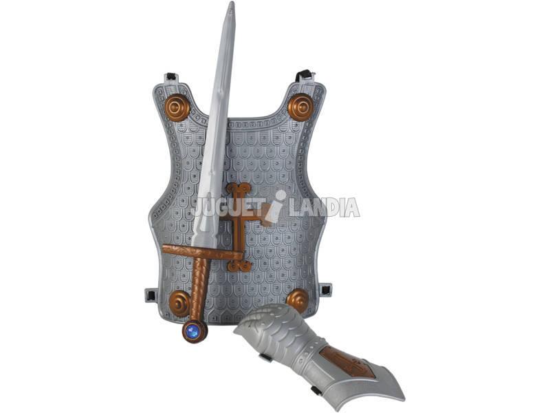 Set Medieval Couraça, Manopla e Espada