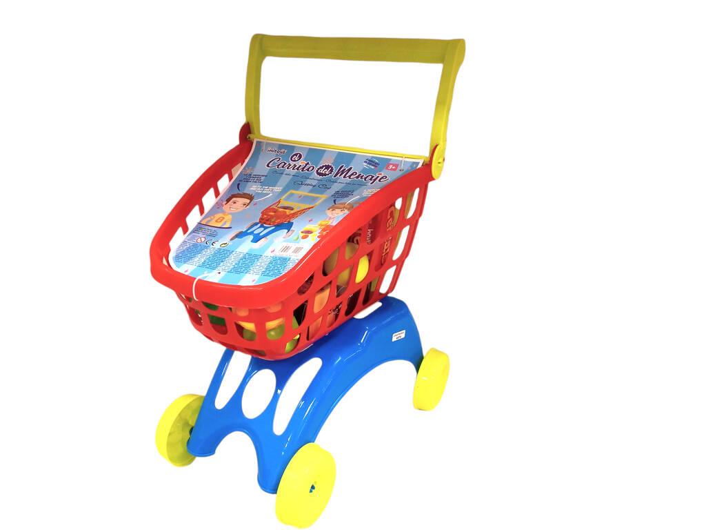 Carrello supermercato con Accessori 50x41x25cm Vicam Toys 20-JU