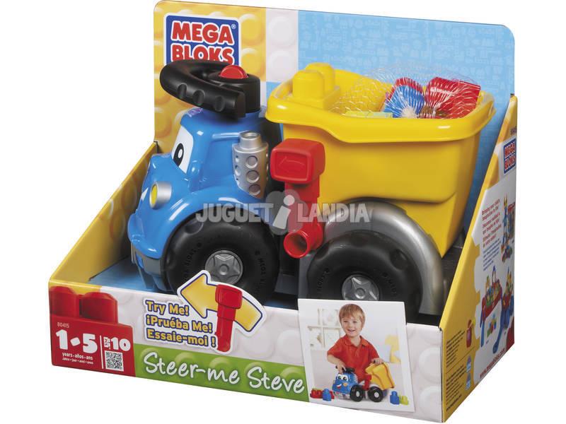 Mega Bloks Steve Camion avec benne