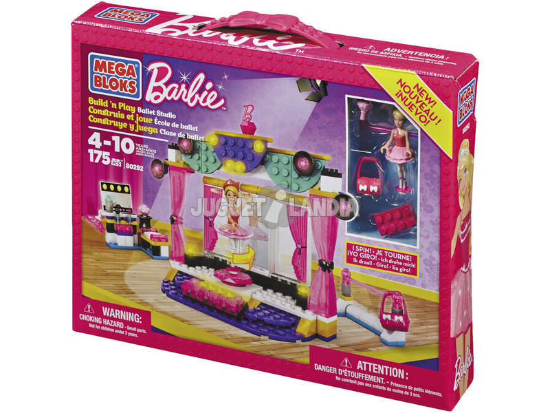 Mega Bloks Barbie Estudio de Ballet